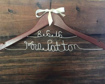 Double Line Wedding Gown Hanger