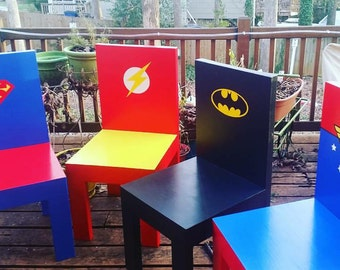 Justice League chair (one of set of four)