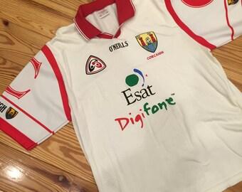 Vintage Irish Gaelic Football Jersey: Cork Team 1997