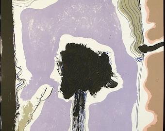 Gui 4, 1974. Lithograph by Josep GUINOVART