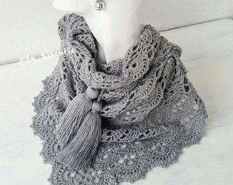 Baktus crocheted