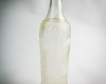 Vintage soda bottle.
