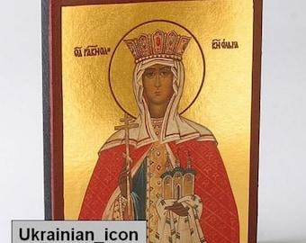 Icon St Olga Святая Княгиня Ольга