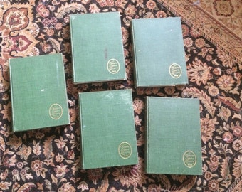 Nature Lovers Library Set of 5 Antique Books