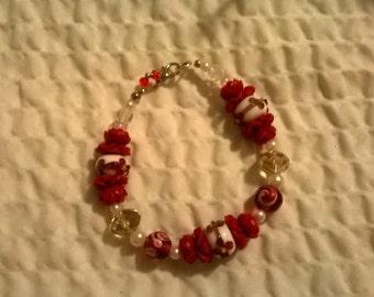 Extraordinary rose bracelet