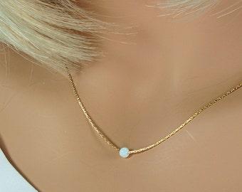 Dainty Gold Choker: Dainty Opal Choker,Opal Necklace,Minimal Gold Choker,Opal Necklace,Opal Gold Necklace,Dainty Necklace,Dainty Opal