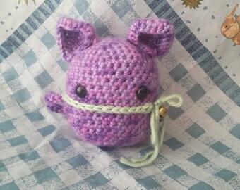 Purple Amigurumi Animal