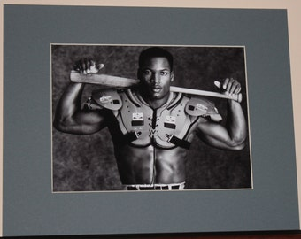 Bo Jackson 8x10 photo with Mat 11x14 ready to frame
