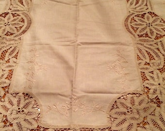 Incredible Vintage Table Linen Set - Never Used