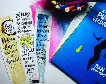 Marcardores Kit, handmade, watercolor, illustration & Lettering