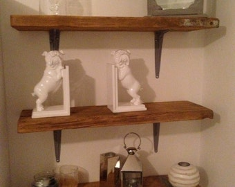 Reclaimed Upcycled Scaffold Shelving made to order