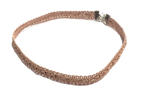 Bronze - Choker | Detailed choker | Necklace | Bronzed | Glamorous | Chokers | Jewelry | GRACIE