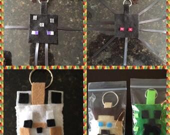 Pixel Gamer Keychain