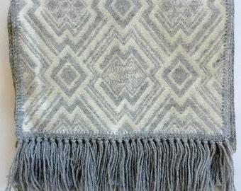 Incan Print Alpaca Scarf