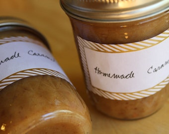 One Dozen Caramel Sauces- Assorted, Variety, Your Choice, Gift Set- Vegan, Sugar Free, Gluten Free, Paleo, Clean Eating
