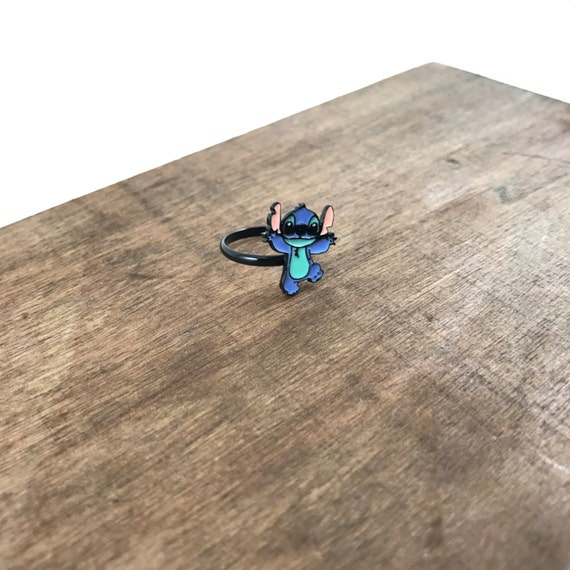 Lilo and Stitch Ring, Lilo and Stitch Adjustable Ring, Stitch Ring, Lilo Ring, Lilo & Stitch Ring