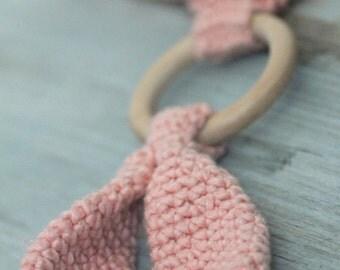 organic miri ~ teething snuggle  blanket