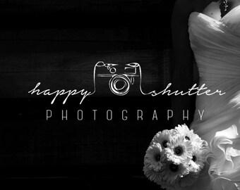 Premade Photography Logo Design - Camera Logo Design - Logo Design Photography - Photographer - Signature Logo Design and Watermark