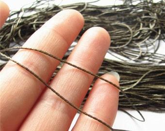 Very Thin Snake Chain Brass Chain Handmade Jewelry Finding 1.5mm