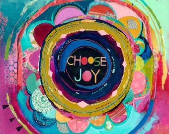 choose joy {art print}