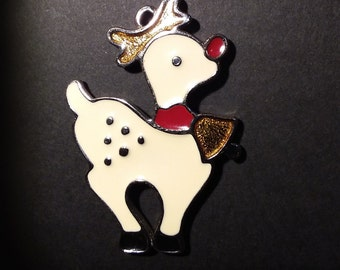 Reindeer Wallace Silversmith pendant/ornament