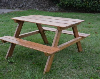 Child's picnic bench