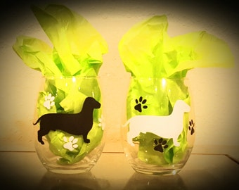 Dachshund Wine Glasses (Pair)