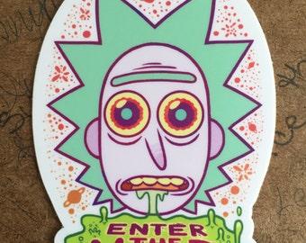 Sticker: Enter The Void