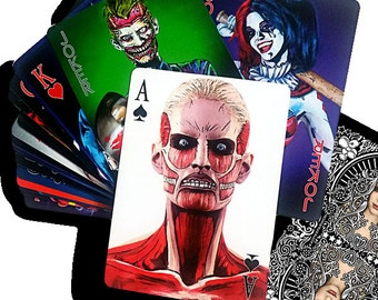 Bodypaint Playing Cards (Poker Size Plastic)