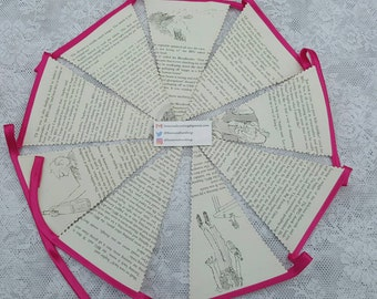The B.F.G Vintage book bunting