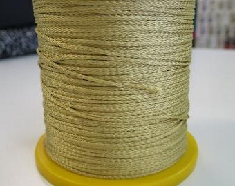 2mm x 500mts Gold rayon cord