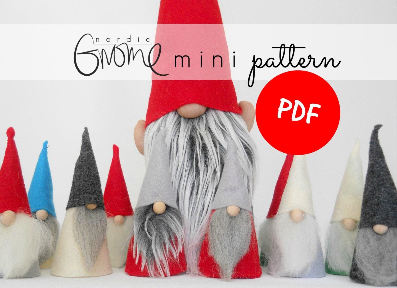 MINI Scandinavian Gnome Pattern | PDF | Nordic Gnome ...