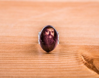 Ring Hagrid / Harry Potter Ring / jewelry / ring Cabochon / Hogwarts / Gryffindor / Slytherin / Voldemort / Hermione / Ron / Hogwarts