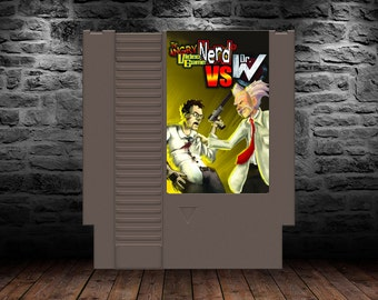 Angry Video Game Nerd vs Dr. Wily - Retro Action Platforming Adventure - NES - AVGN