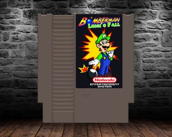 Bomberman Luigi's Fall - Even more Explosive Action featuring the Green Plumber - NES