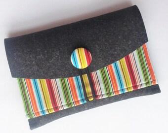 eBook reader Pocket made of wool felt