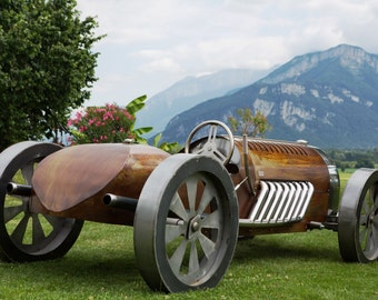 Bug - Bugatti metal Sculpture