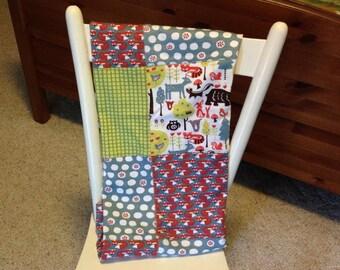 Little Forest Knit Blanket