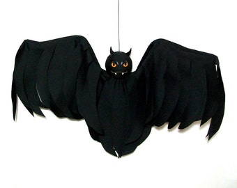 Outdoor Halloween Decoration Hanging Bat Flyer Yard Art