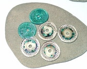 BHG  Sand and sea discs OOAK