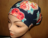 New  Veronica Euro Style Medical Surgical Scrub Hat Vet Nurse Chemo