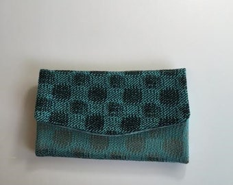 Wallet Turquoise/Black