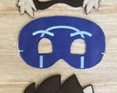 READY to SHIP PJ Masks Villians Inspired Masks Disney Jr. Inspired Masks For Kids