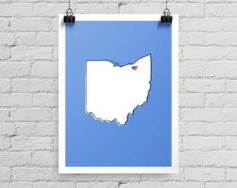 Cleveland Love - Giclee Print