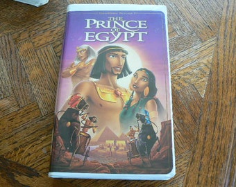 The Prince of Egypt VHS Movie in great shape (Clamshell)