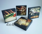 """Photo Gift, Your Photo Becomes Art, 4""""x4"""""""