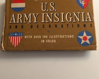 A Guide to US Army Insignia 1941