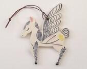 Wall Ornament || Ceramic Pegasus no. 1