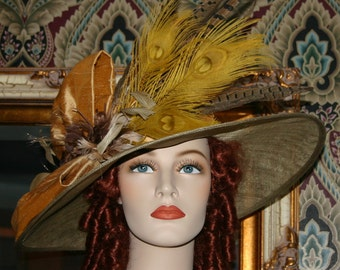 Kentucky Derby Hat ~ One of a Kind ~ Lady Augusta ~ ON SALE was 399.00