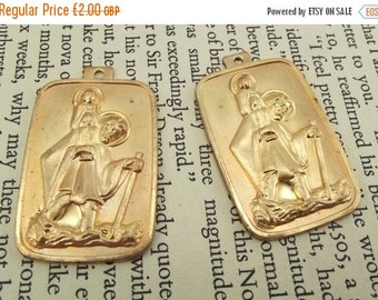 ON SALE Saint Christopher religious pendants